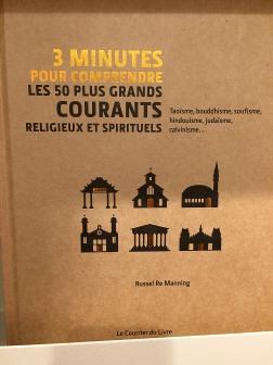 """Ostatnio wszędzie reklamowane są książki z serii """"3 minuty by zrozumieć..."""" - w tym wypadku 50 największych prądów religijnych i duchowych"""