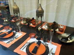 Odrobina Orientu na stole.