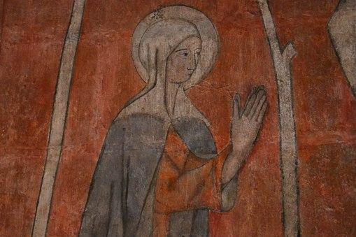 Katedra w Burgos - fresk