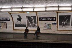 Saint-Augustin (9) *** Święty Augustyn - biskup i największy teolog Zachodu, autor reguły m.in. dominikanów.