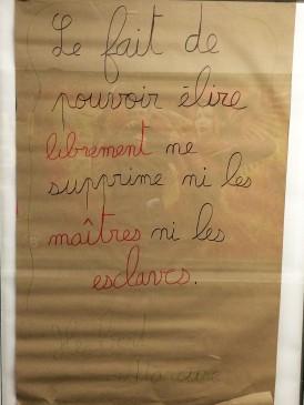 """""""Fakt, że można wybierać w sposób wolny nie znosi ani panów, ani niewolników"""". Herbert Marcuse"""