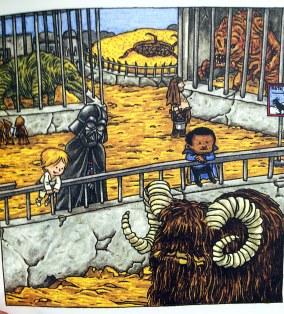 Darth Vader w Zoo. Bezcenne!