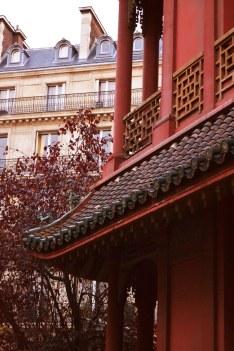Pagoda Paris - zbudowana w 1926 na zamówienie handlarza sztuką chińską, C.T. Loo.