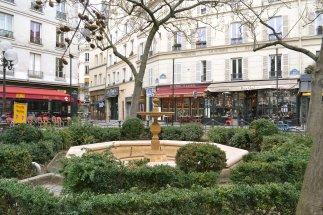 "Place de Contrescarpe - w nieistniejącym już kabarecie ""Maison de la Pomme de Pain"" spotykała się grupa Pléiade."