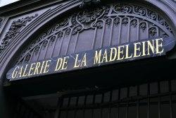 Pasaż - Galerie de la Madeleine.