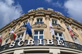 Hotel Scribe. Wcześniej: Grand Café, gdzie 28 grudnia 1895 roku narodziło się kino.
