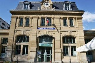 Dawna stacja Reuilly - linia kolejowa do Vincennes.