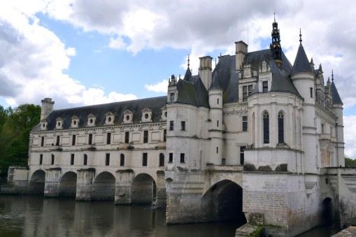 Zamek i park w Chenonceaux