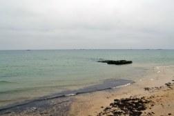 Arromanches - pozostałości sztucznego portu