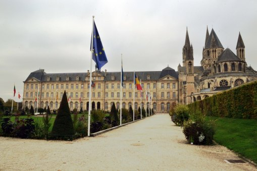 Dawne opactwo w Caen