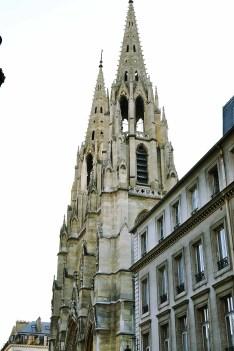 Neogotycki kościół św. Klotyldy.
