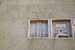 Pomnik praw człowieka - zamówiony na dwustulecie Rewolucji. Dzieło czeskiego rzeźbiarza Ivana Theimera.