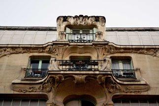 Zwycięska fasada art nouveau w konkursie w 1902 roku.