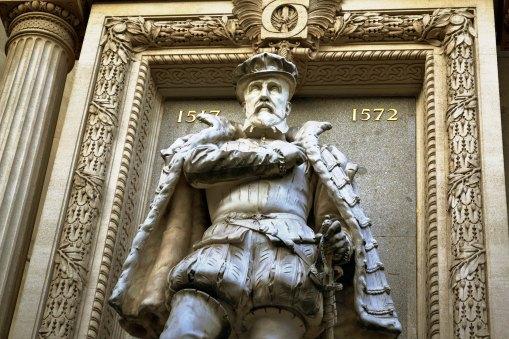 Pomnik Gasparda de Coligny, dowódcy hugenotów - zamordowanego w czasie Nocy św. Bartłomieja