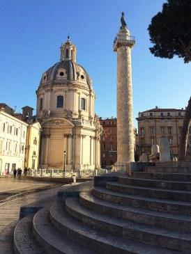 SS. Nome di Maria i kolumna Trajana