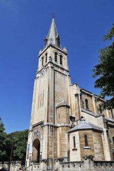 Kościół parafialny św. Lamberta.