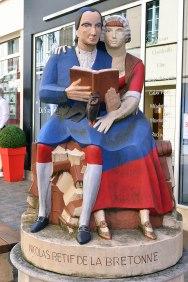 Restif de la Bretonne - osiemnastowieczny pisarz.
