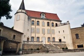 Domena Château de Vaudieu - zaskakujące białe wino (region słynie z czerwonych) zupełnie nieznane we Francji, bo w 80% idzie na eksport. Nie wiedzą co tracą!