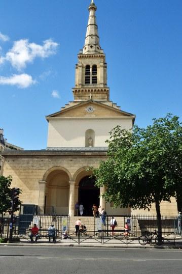 Kościół parafialny św. Jana Chrzciciela.